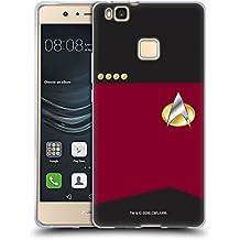 Ufficiale Star Trek Capitano Uniformi E Stemmi TNG Cover Morbida In Gel Per Huawei P9 Lite / G9 Lite