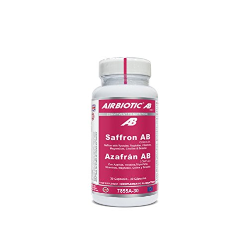 Airbiotic AB - Azafrán Complex - 30 cápsulas