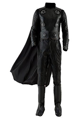 Karnestore Avengers III Infinity War Thor Outfit Halloween Cosplay Kostüm Herren L (Thor Herren Für Kostüm)