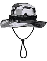 US GI bonnie hat, rip stop, bande menton, Couleur:urban;Taille:L