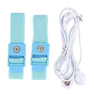 Kinxor Elektrostimulatorischer Stimulator E-stim-Band Leitfähige Elektrostimulationsschleifen 2 Ringe
