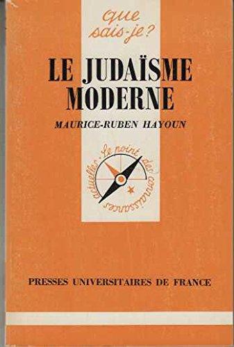 Le judaïsme moderne