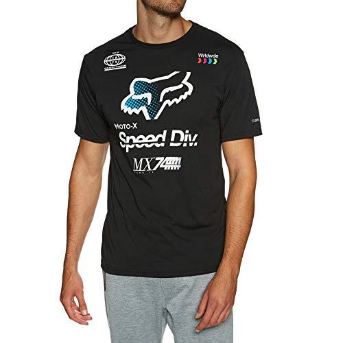 Preisvergleich Produktbild Fox Tech T-Shirt Murc Toner Schwarz Gr. L