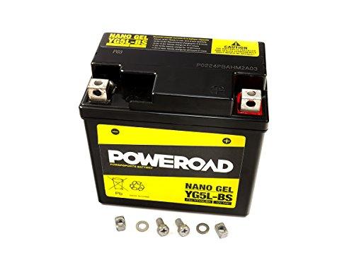 Gel Batterie Poweroad YTX5L-BS 5Ah