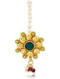 Sukkhi Copper Hair Jewellery for Women (Golden) (BRL70095GLDPD500)