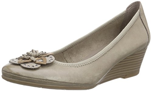 Marco Tozzi Premio 22311 Damen Pumps Braun (PEPPER ANTIC 335)