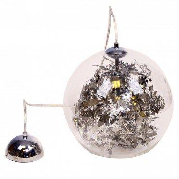 Design Lampe Deckenlampe Hängeleuchte Pendelleuchte Glas Kugelleuchte Wohnzimmer 60W (10187919)