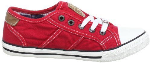 Mustang 5803305, Baskets mode mixte enfant Rouge (5 Rot)