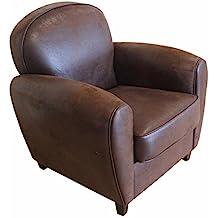 fauteuil cuir vintage. Black Bedroom Furniture Sets. Home Design Ideas