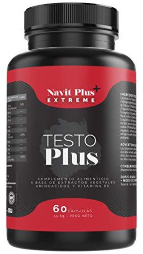 Testosterona formulada con TESTOFEN + ginseng, zinc y maca....