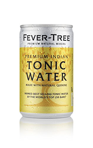 Fever-Tree Indian Tonic Water 8 x 150 ml (Pack of 3, Total 24 Cans)