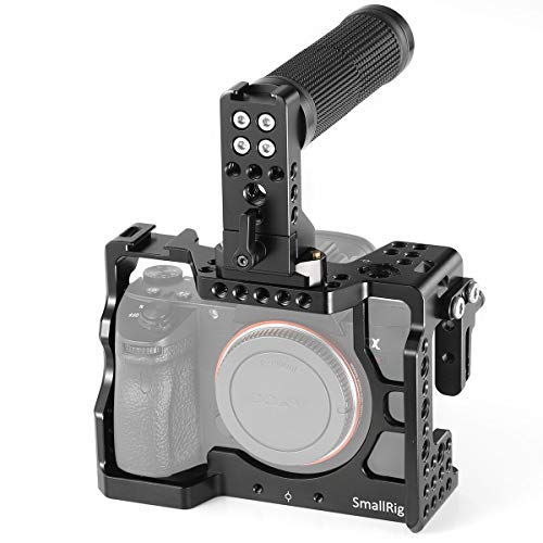 SMALLRIG A7III Kamera Cage Kit für Sony A7RIII / A7III mit Top NATO Handle und HDMI Cable Clamp - 2096 -