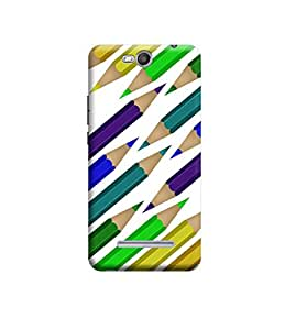 Ebby Premium Back Cover For Micromax Canvas Juice 3 Q392