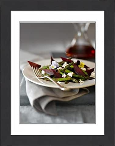 Framed Print of Beet, Asparagus and Goat Cheese Salad with