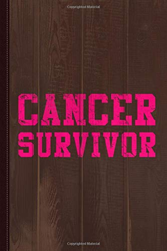 Cancer Survivor Journal Notebook: Blank Lined Ruled For Writing 6x9 120 Pages por Flippin Sweet Books