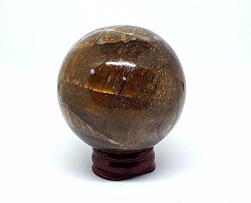 OEIL DE TIGRE BOULE DE CRISTAL Divination vision dans le cristal 57mm 250g sphère