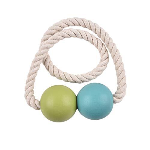 MISSMAO_FASHION2019 Raffhalter mit Magneten,Klemme zum Halten Ihrer Vorhänge oder Gardinen für Wohnzimmer,Badezimmer,Schlafzimmer Grün Länge:40cm