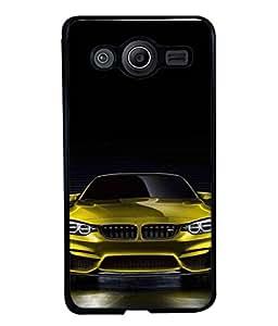 PrintVisa Designer Back Case Cover for Samsung Galaxy Core 2 G355H :: Samsung Galaxy Core Ii :: Samsung Galaxy Core 2 Dual (High class Fast Comfortable royal green black)