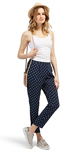 Tom Tailor für Frauen pants / trousers feminine Loose Fit Hose real navy blue