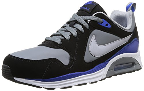 Nike Air Max Trax Leather Herren Sneaker Mehrfarbig (COOL GREY/WOLF GREY-BLK-GM RYL)