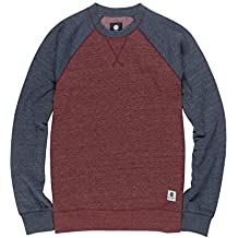 Element Meridian Block CR Sudadera Oxblood Red