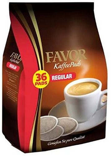Favor Kaffee Pads Regular für Senseo 10x36 Stuck