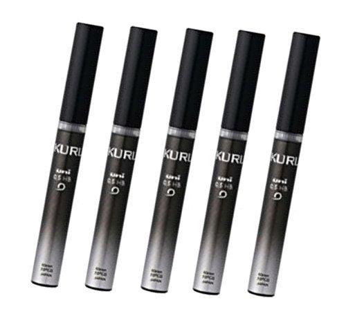 Uni Kuru Toga Pencil lead-0.5mm-B,20Leads x 5-pack (totale 100piombi)