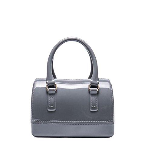 Handtaschen Kissen Tasche Tasche Süßigkeiten Tasche Handtasche Einfache Atmosphäre Elegant Grey1