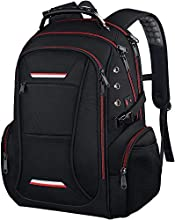 Laptop Rucksack, Business TSA Friendly Water Resistant Anti Theft Business Backpack with USB Charging Port Fit 15.6-17.3 inch Large Laptop Notebook Gifts for Travel/Business/College Men/Women
