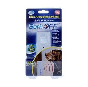 Bark Off Ultrasonic Training Aid, Stop Annoying Barking, Indoor and Outdoor Use