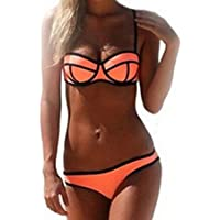 Peily® Le donne Costume Bikini Reggiseno Effetto