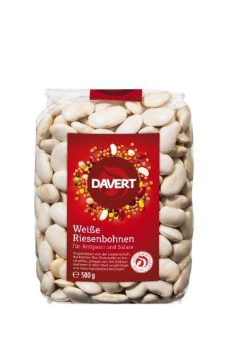 Davert Weiße Riesenbohnen,4er Pack