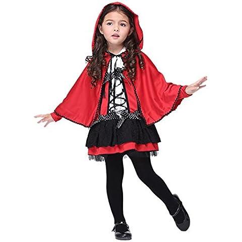 Biwinky Traje de Diablo Disfraz de Halloween Cosplay Niña Asia M Busto 68cm