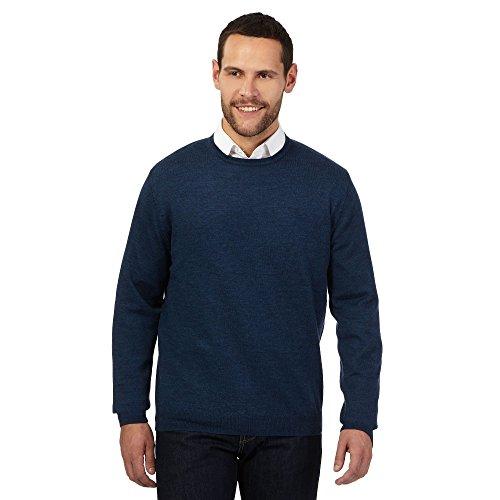 j-by-jasper-conran-mens-light-blue-merino-wool-crew-neck-jumper-l