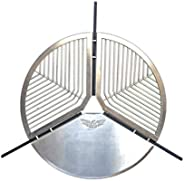 AOR Stainless Steel Spare Tire Adjustable BBQ Stand