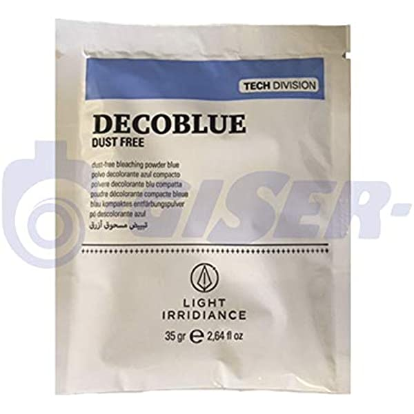 Light Irridiance Tech Decoblue Dust Free - Polvo decolorante ...