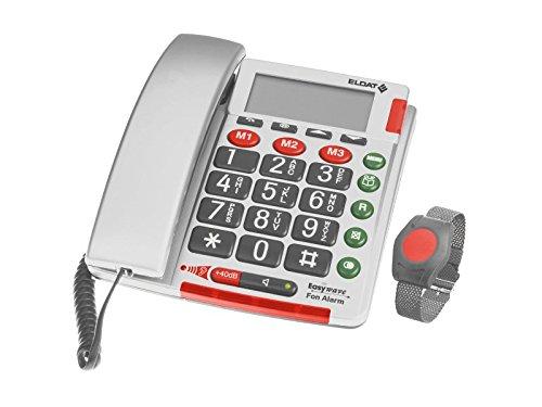 Easywave RS265001E0201 Notruftelefon Fon Alarm, Mehrfarbig Alarm-telefon