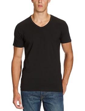 JACK & JONES Herren T-Shirt Basic V-Neck Tee S/S Noos