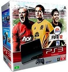 Sony PlayStation 3 Slim, 320Gb + FIFA 12