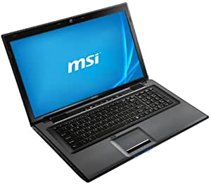 MSI CX70-i740M281W7H 43,9 cm (17,3 Zoll) Notebook (Intel Core i7-4702MQ, 2,2GHz, 8GB RAM, 1TB HDD, NVIDIA GT 740M, DVD, Windows 7 Home Premium) schwarz