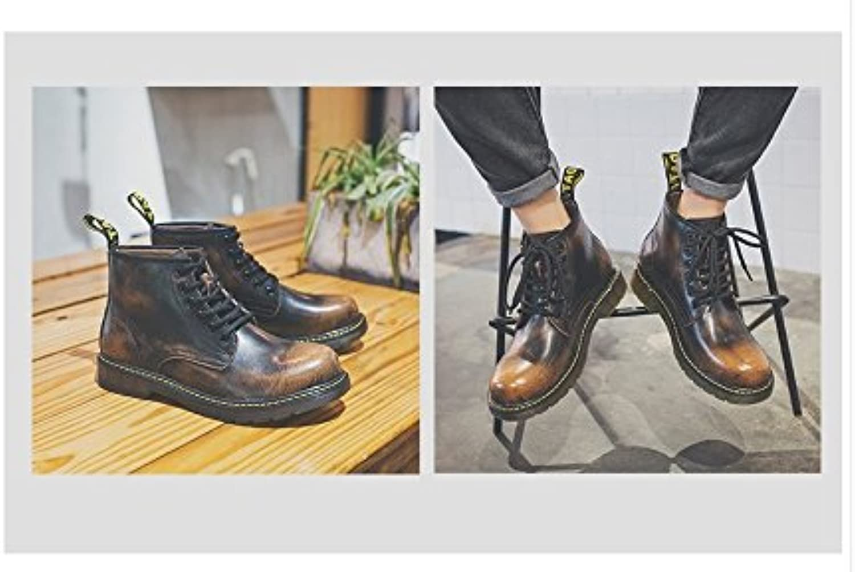 HL PYL   schwarze Stiefel  Stiefel  Stiefel und Mode große Brache Hilfe Ma Dingxue  38  Dunkelbraun