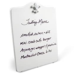 Place Tile Designs Dry-erase Ceramic Fleur de Lis MessageTile Message Board