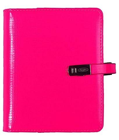 1311-45 Kalpa Pallo Trendy Organiseur Personnel En Cuir Artificiel Taille Junior Pocket Rose