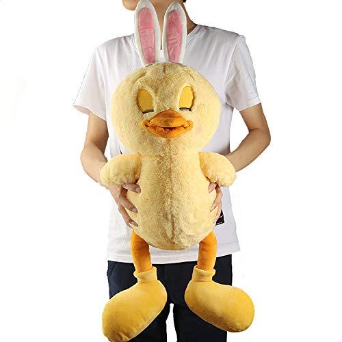 ahzha Neue Kaninchen Huhn Bunny Küken Ostern Cartoon große Plus Puppe Puppe Spielzeug Geschenk Plüsch Puppe B Geschlossene Augen Baby Plüsch Puppe Kissen -