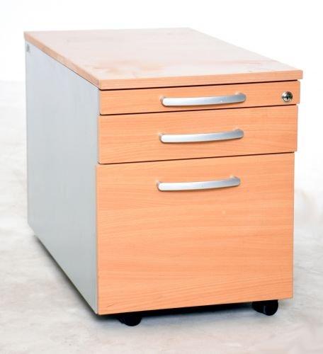 Rollcontainer Buche, gebrauchte Büromöbel