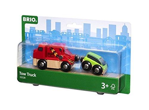 BRIO World 33528 - Abschleppwagen mit Auto