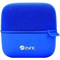 Zync Wireless Cube Portable Bluetooth Speaker (Blue)