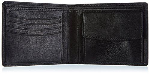 Frankie's Garage Nigel WS115110057-010 Unisex-Erwachsene Geldbörsen 10x12x2 cm (B x H x T) Schwarz (black 010)