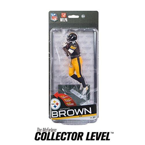 Pittsburgh Steelers McFarlane NFL Series 37 Figure Antonio Brown Black (Steelers Football Uniform)