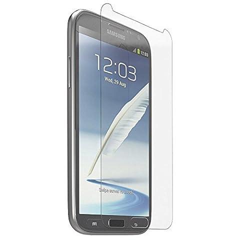 2x Samsung Galaxy Note 2 Schutzglas aus gehärtetem Glas Panzerglas Schutzfolie Glasfolie Displayschutzfolie Displayschutz 9H Hartglas 0,3mm Screen Protector Retail-Verpackung (2er Pack)